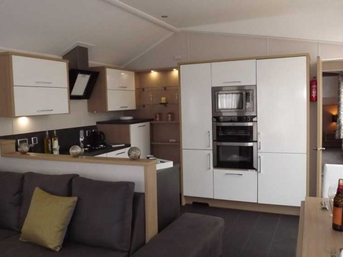 Inside the Willerby Linear show home pic1