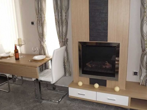 Inside the Willerby Linear show home pic2