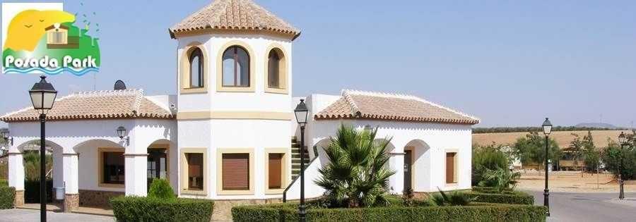 Park La Posada Reception Mobile Home in Spain