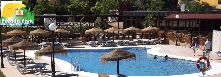 Park la posada Swimming pool Mobile homes in spain