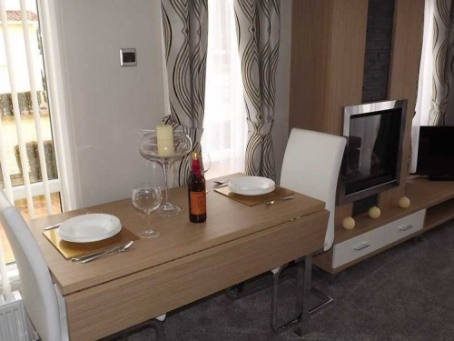 Inside the Willerby Linear show home pic4