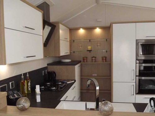 Inside the Willerby Linear show home pic6