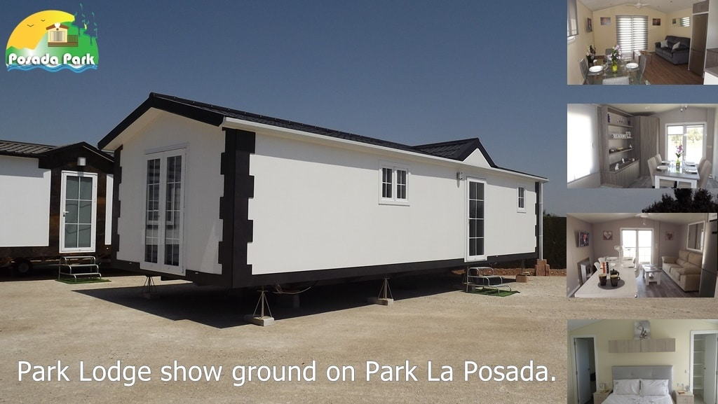 Park Lodge show ground in Spain