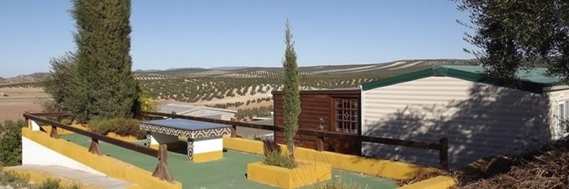 Mobile home park in Spain image. Corrales park views